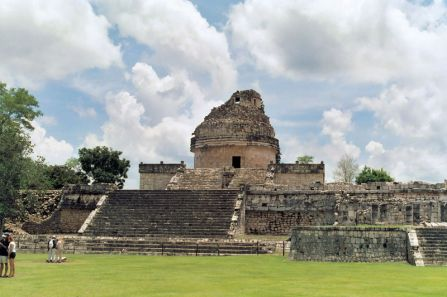 "Caracol - ""The Observatory"" in Chichén Itzá"